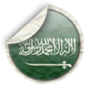 Arabia, saudi Black icon