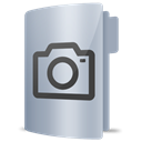 Camera, photos, Pictures, Folder Black icon