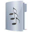 music Silver icon