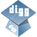 hat, Digg DarkGray icon