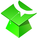 hat, Technorati LimeGreen icon