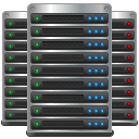 Hosting, Cloud computing, Servers, data center, datacenter, Server DarkSlateGray icon