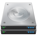 Disk, Server DarkGray icon