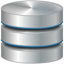 Database, storage DarkGray icon