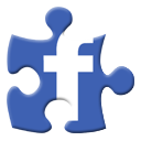 Puzzle, Facebook SteelBlue icon