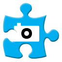 Twitpic DeepSkyBlue icon