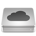 Aluport, mobileme Silver icon