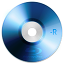 Bluray, r Black icon