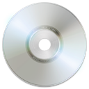 Cd, Dvd, disc, Blank DarkGray icon