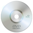 Dvd+r DarkGray icon