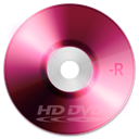 Dvd, r, Hd Brown icon