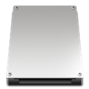 Removable, Disk, storage Silver icon