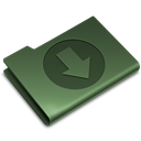 green, download Black icon