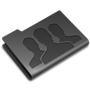 Groups DarkSlateGray icon