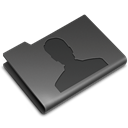Users DarkSlateGray icon