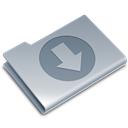 download, Blue Icon