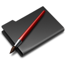 Folder, graphics DarkSlateGray icon