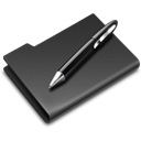 graphics, Pen DarkSlateGray icon