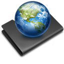 Folder, earth, Sites Icon