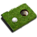 grass, sports, Folder Black icon