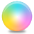 Cmyk, Colours SkyBlue icon