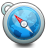 safari LightSkyBlue icon