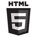 html, Color Black icon