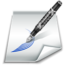 write, Draw, styling, Edit, paper Black icon