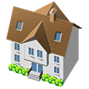 Home, house, traditional, Building Icon