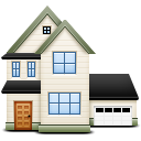 Home, plan, Building, house DarkSlateGray icon