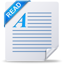 Readme, Text, document, File, read Icon