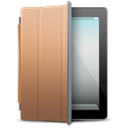 Brown, Cover, ipad Black icon