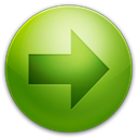 Left, Arrow OliveDrab icon