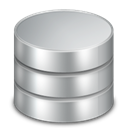 Database DarkGray icon