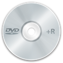 Dvd+r LightGray icon