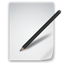 File, Edit WhiteSmoke icon