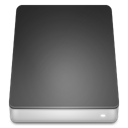 Hard, Disk, drive DarkSlateGray icon