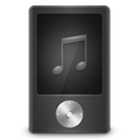 player, music DarkSlateGray icon