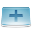 plus, Folder, new SkyBlue icon