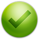 tick OliveDrab icon