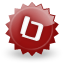 Bookmarky DarkRed icon