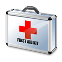 First, Aid, Kit Black icon