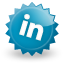 Linkedin DarkCyan icon