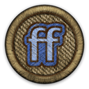 Friendfeed DarkOliveGreen icon