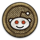 Reddit DarkOliveGreen icon