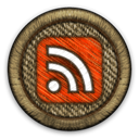 Rss DarkOliveGreen icon