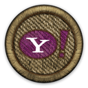 yahoo DarkOliveGreen icon