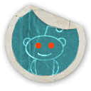 Reddit SteelBlue icon