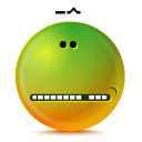Embarrassed YellowGreen icon