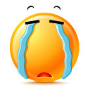 Cry DarkOrange icon